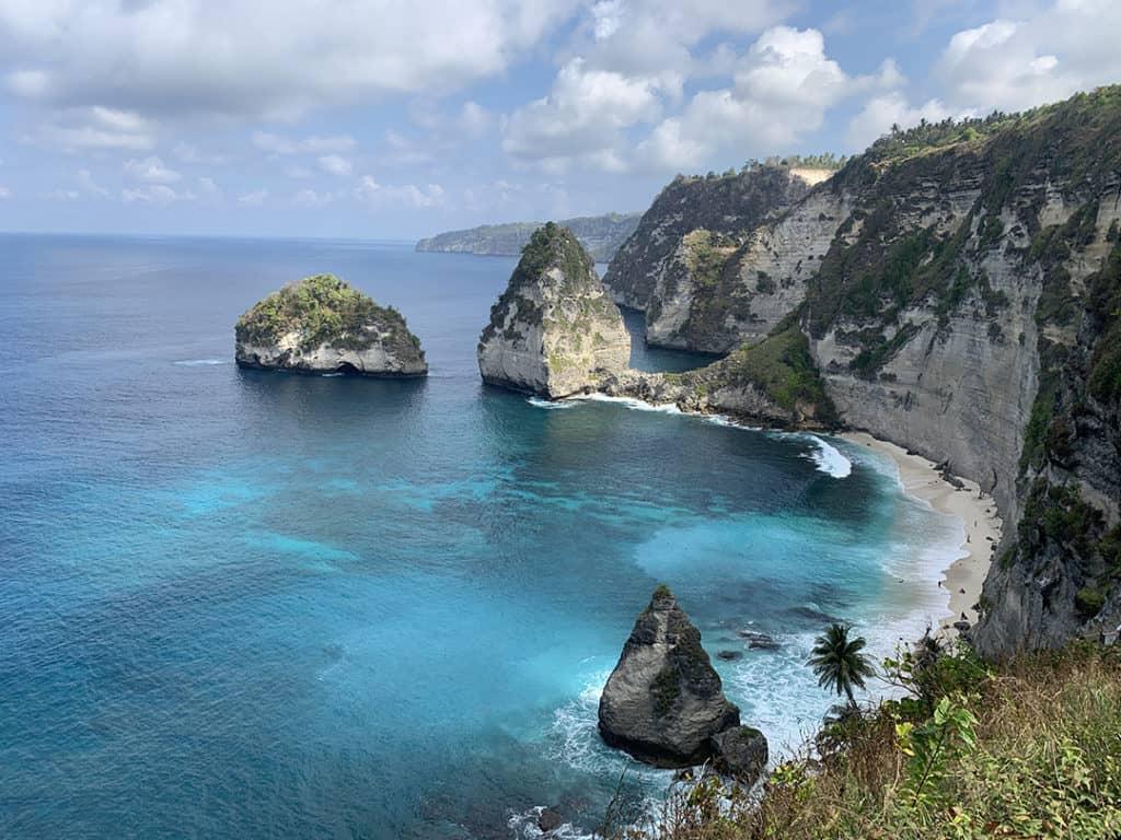 Diamond Beach Nusa Penida in Bali