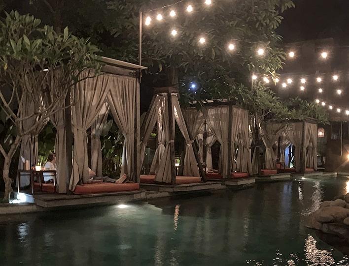 Onion Collective Poolside Cabanas in Ubud Bali