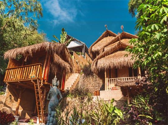 Bamboo Jungle Hostel Ubud