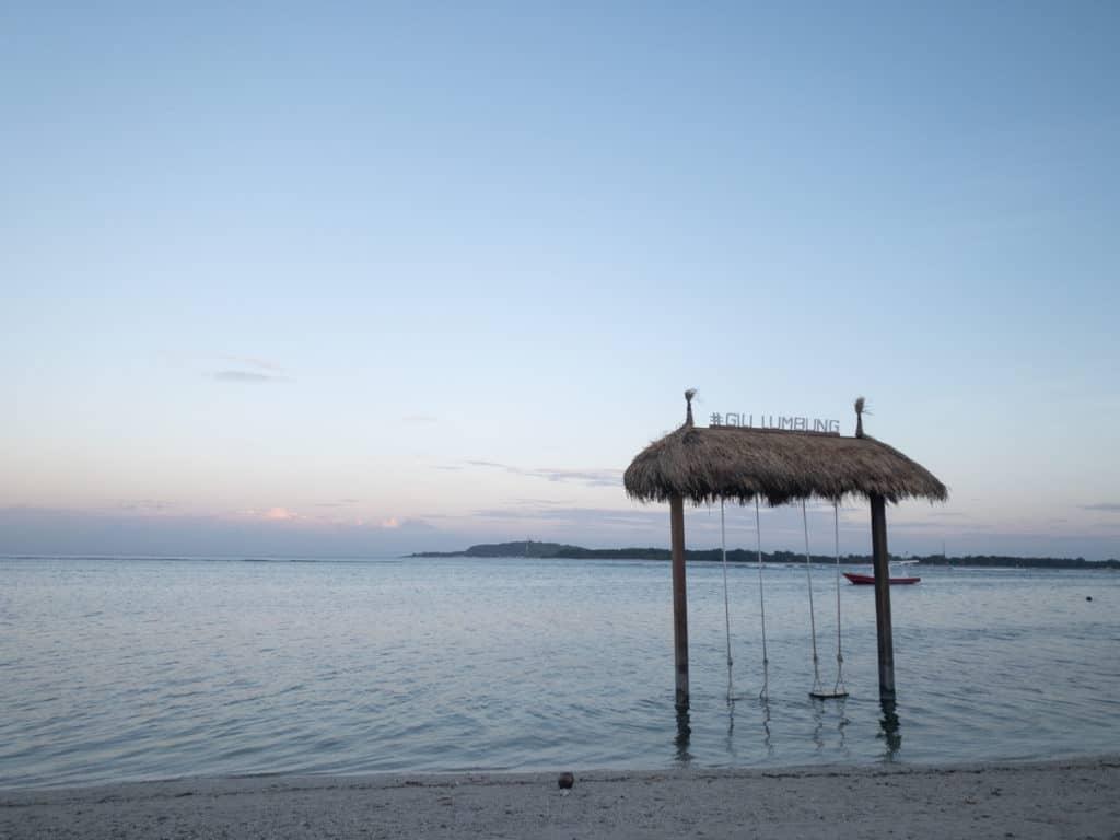 Gili Air Swing at Sunrise