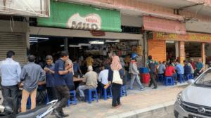 Exterior of Mansion Tea Stall in Kuala Lumpur