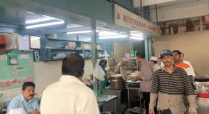 Inside Mansion Tea Stall in Kuala Lumpur