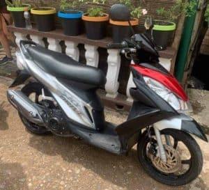 Motorscooter in Coron Philippines