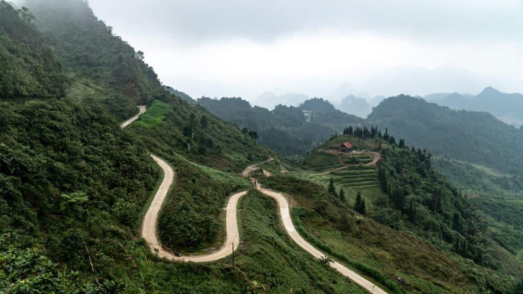 Heavens Gate near Quan Ba on Ha Giang Loop Vietnam