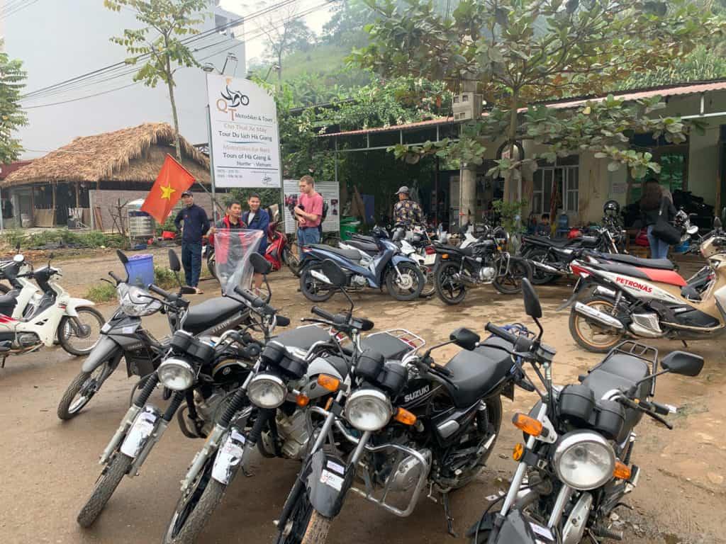 QT Motor Bike Rentals Ha Giang Vietnam