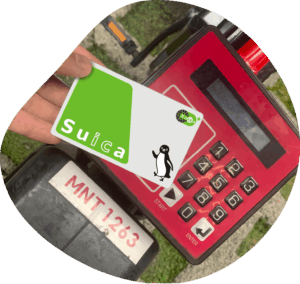 Suica Card Unlocking Docomo Bike Share