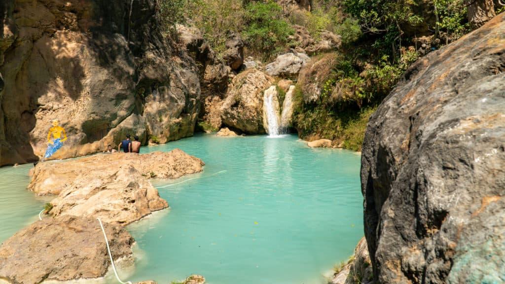 Dee Doke Waterfall Blue Lagoon