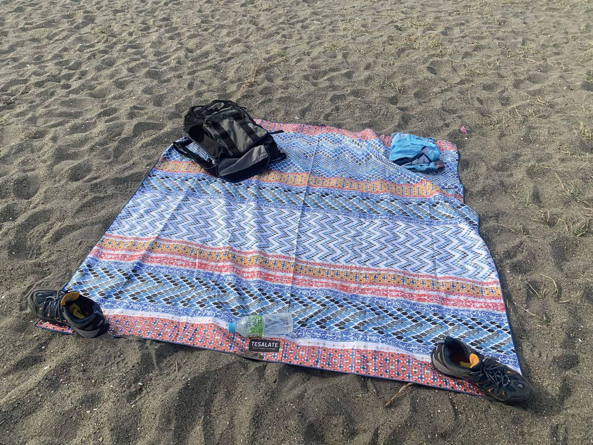 Tesalate Beach Towel - Travel Essentials List