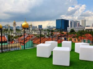 Beary Best Hostel Rooftop View - Singapore on a budget