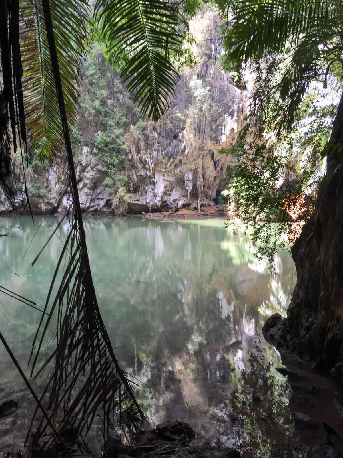 Hidden Lagoon on Railay Peninsula