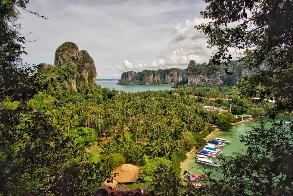View Point in Railay Peninsula