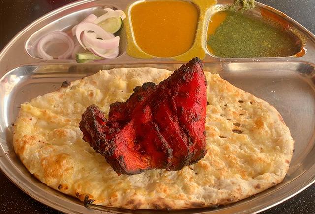 Tandoori Chicken and Naan
